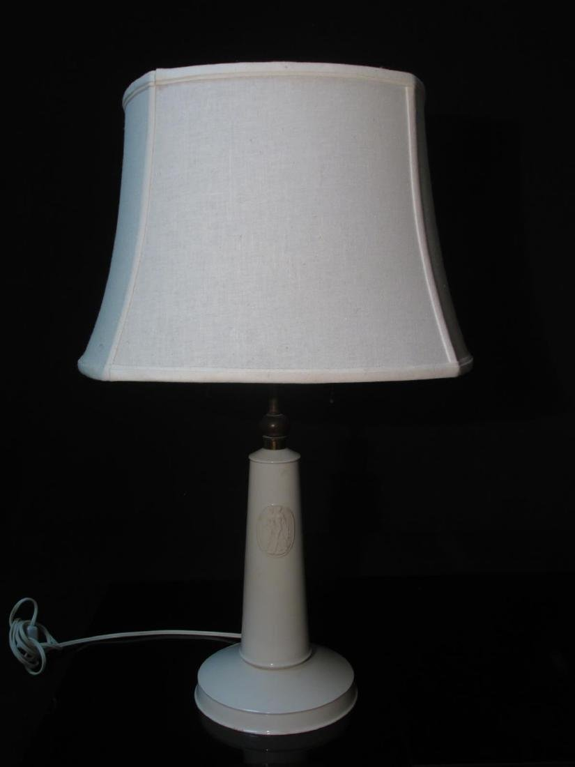MID-CENTURY PORCELAIN LAMP BY KPM