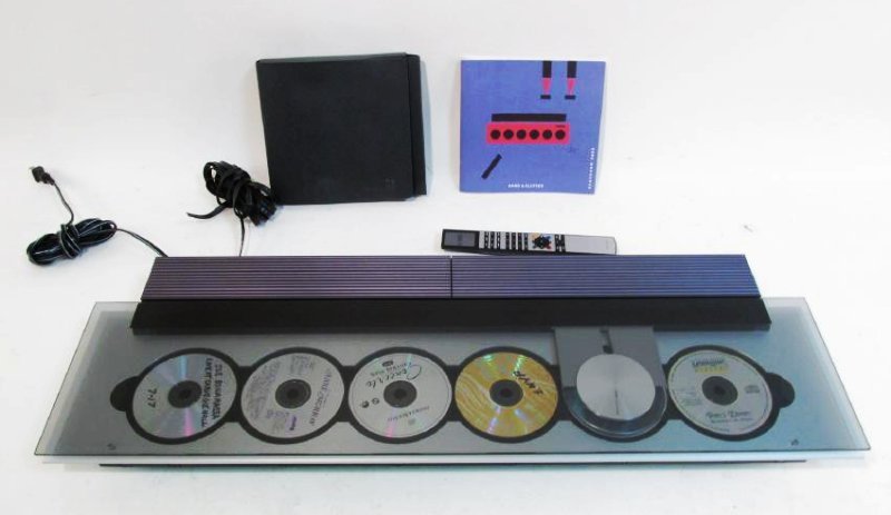 BEOSOUND 9000 6-DISC CD PLAYER & BEO4 REMOTE CONTR