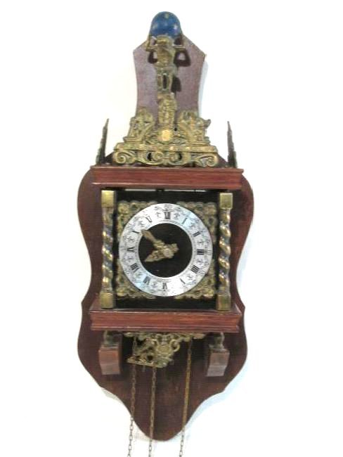 GERMAN BADISCHE UHRENFABRIK WALL CLOCK