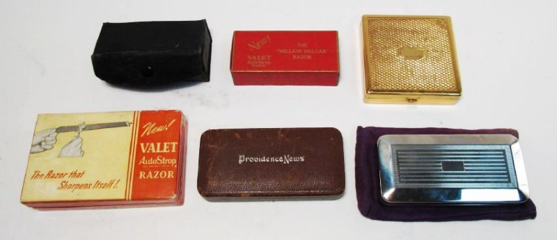 SIX COLLECTOR QUALITY VALET AUTOSTROP SAFETY RAZOR