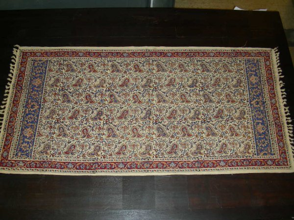 518: PAINTED HAND WOVEN MOROCCAN FABRIC