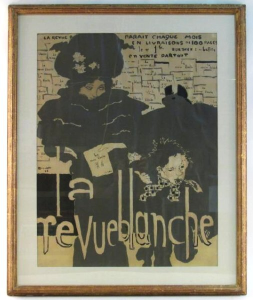 FRENCH POSTER AFTER PIERRE BONNARD