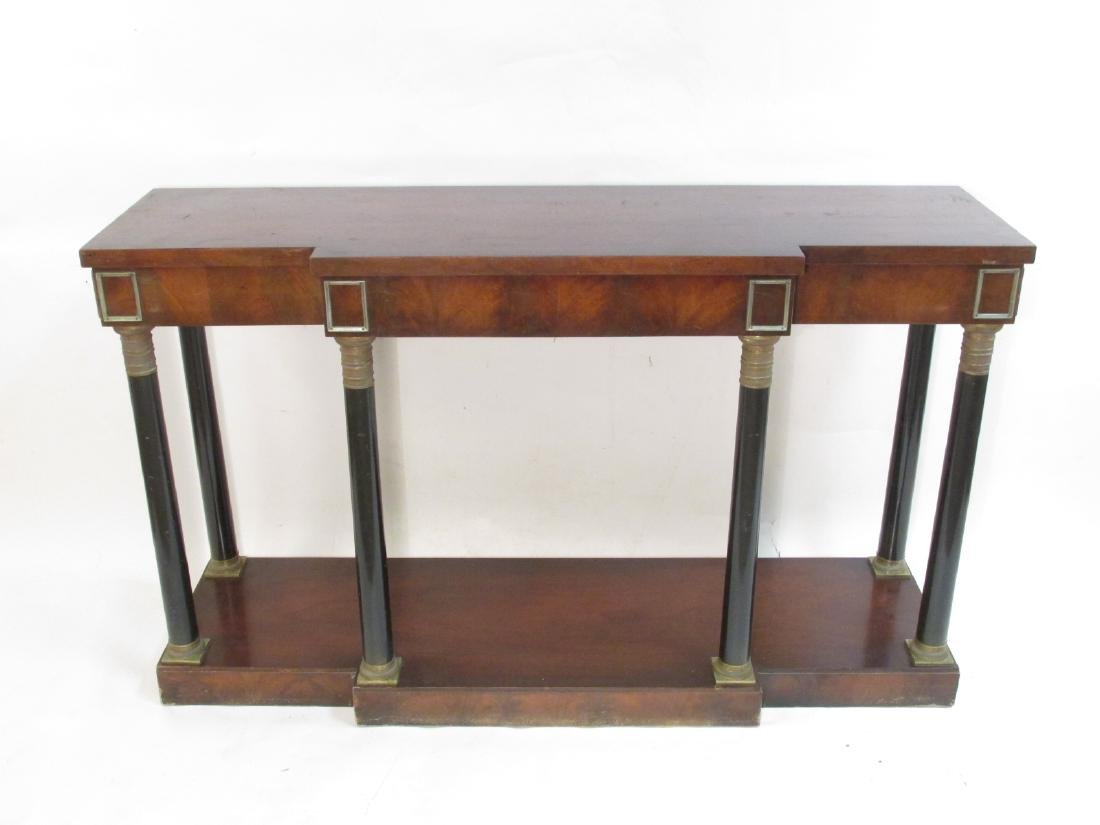 ANTIQUE REGENCY STYLE CONSOLE HALL TABLE
