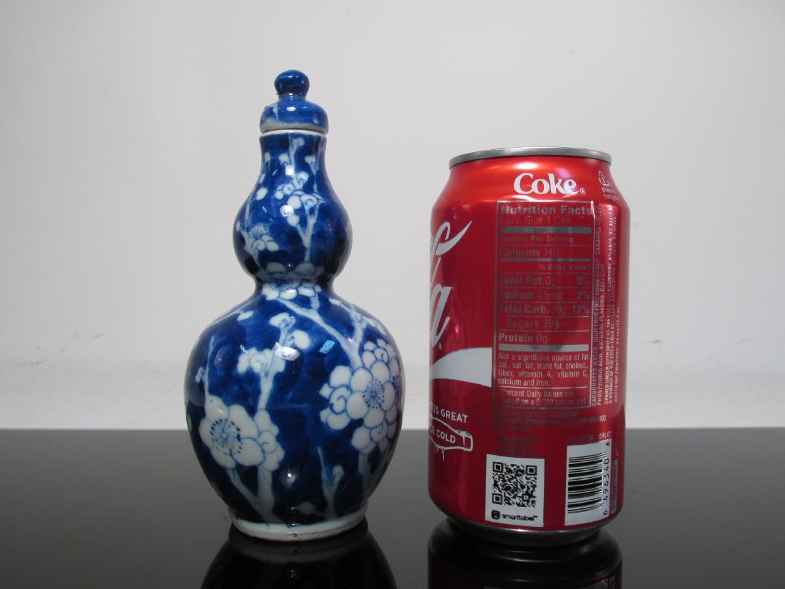CHINESE QING DYNASTY DOUBLE GOURD HULUPING VASES 2 - 6
