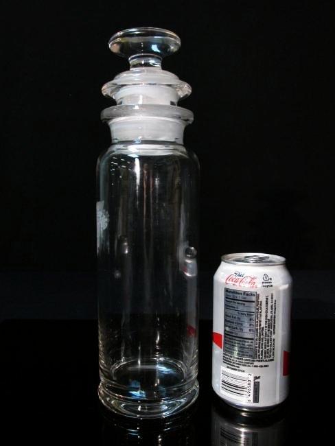 RARE HEISEY WEST POINT USMA GLASS COCKTAIL SHAKER - 6