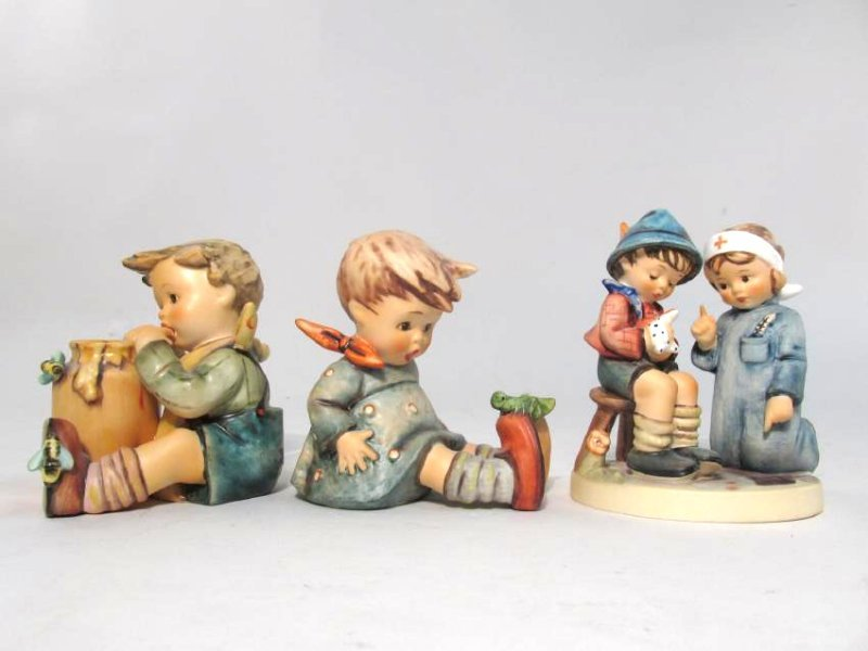 THREE HUMMEL FIGURINES