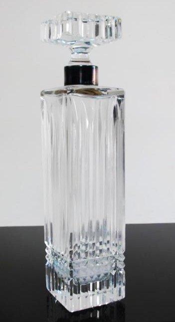 STERLING SILVER & GLASS TABLEWARES: CREAMER ETC. - 2