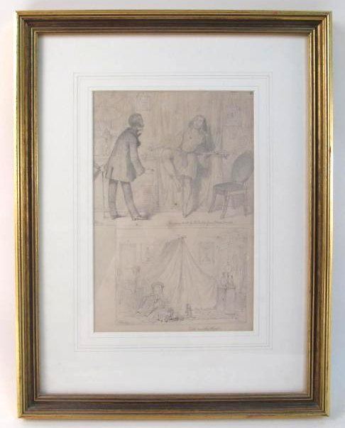 HAROLD JOHN STANLEY FRAMED PENCIL SKETCHING