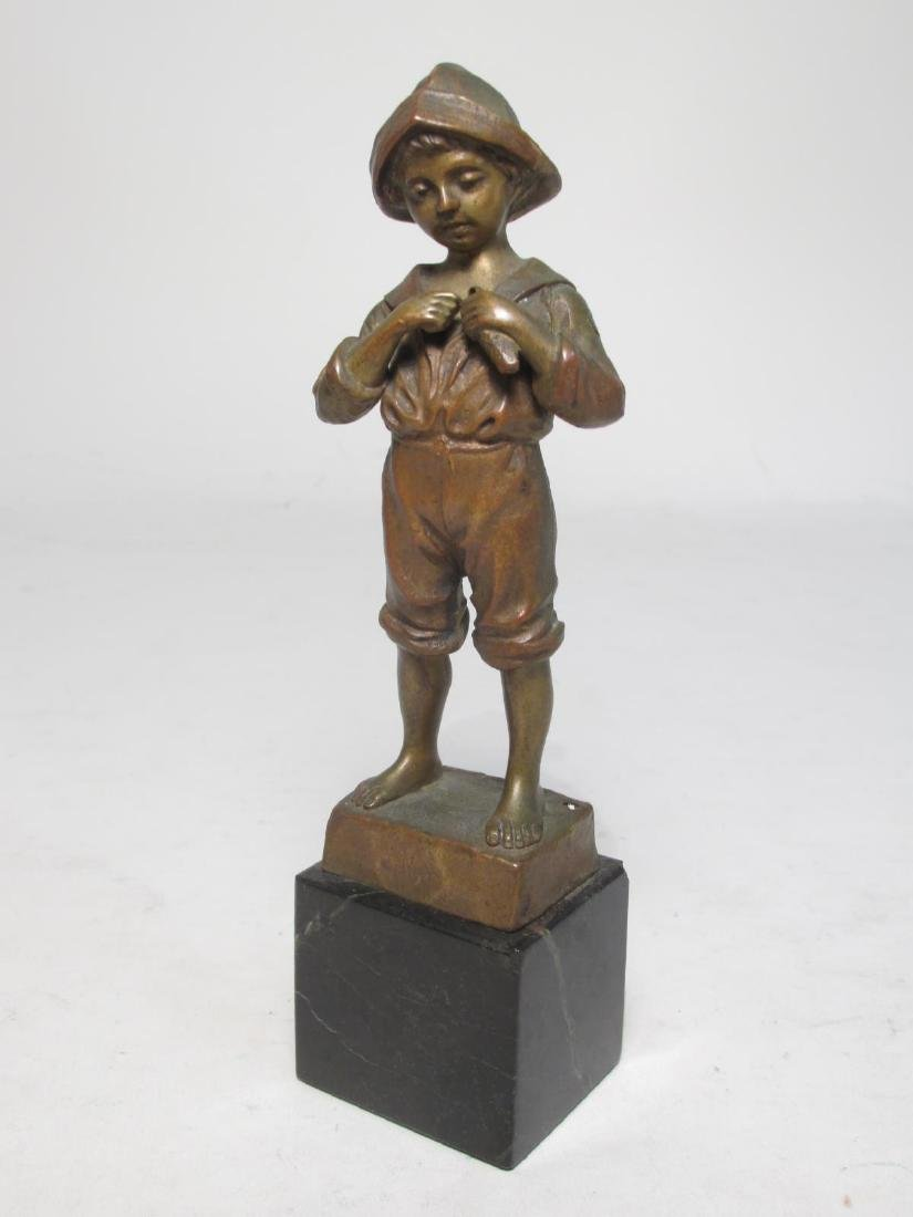 ANTIQUE JULIUS PAUL SCHMIDT-FELLING BRONZE SCULPTU