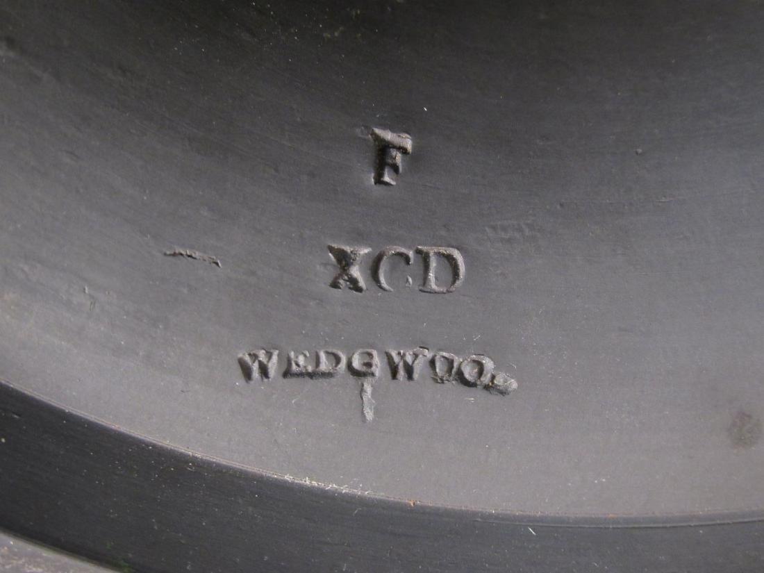 19C WEDGWOOD BLACK BASALT BUST OF MINERVA - 5
