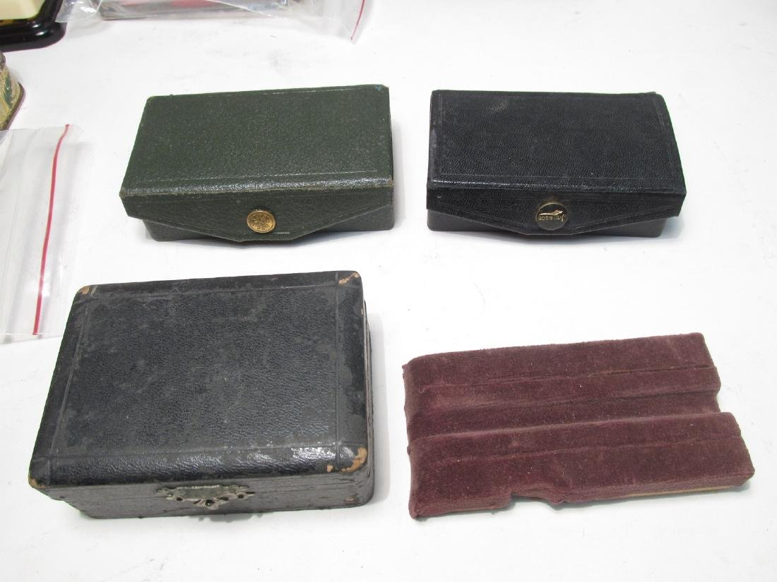 ASSORTED VINTAGE EMPTY SAFETY RAZOR BOXES & TINS - 2