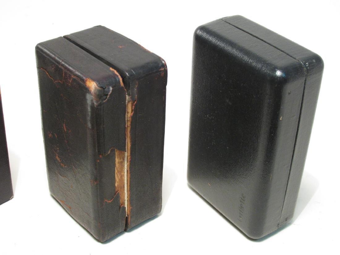ELEVEN VINTAGE GILLETTE SAFETY RAZOR BOXES - 3