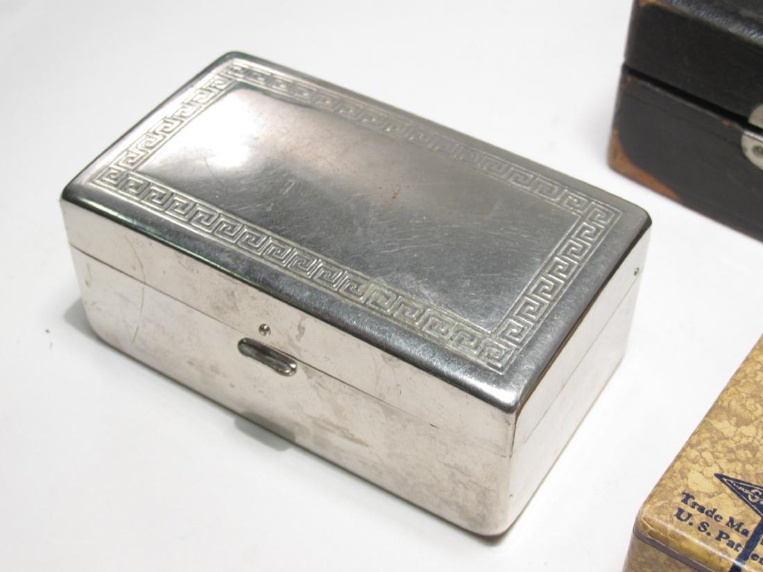 ELEVEN VINTAGE GILLETTE SAFETY RAZOR BOXES - 6