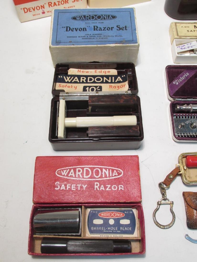 ASSORTED VINTAGE SAFETY RAZORS: WARDONIA, ETC. - 2