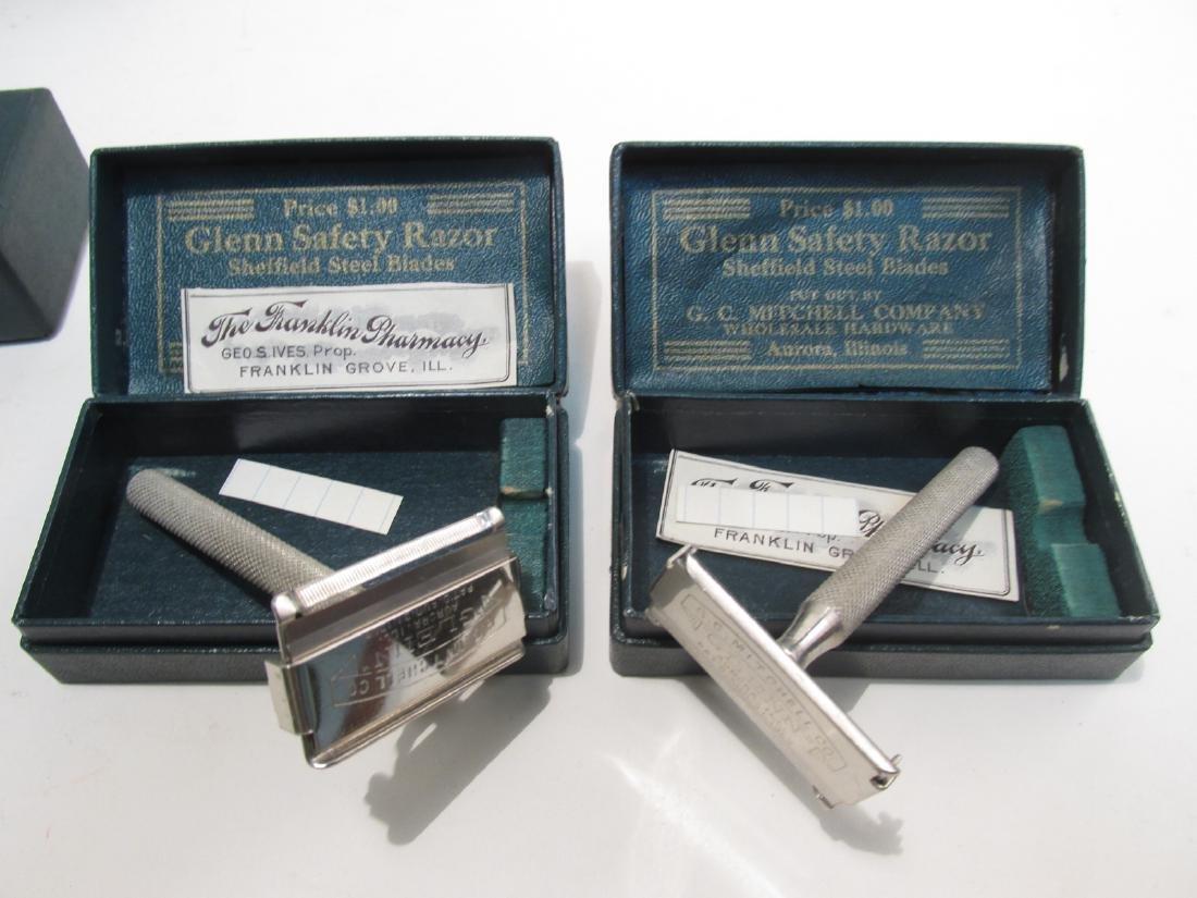NINETEEN VINTAGE UNSINGER BOXED SE SAFETY RAZORS - 9