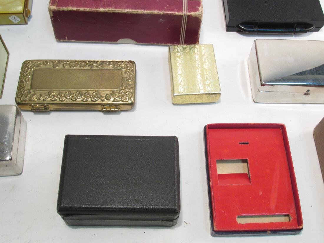 ASSORTED VINTAGE EMPTY SAFETY RAZOR BOXES/CASES - 2