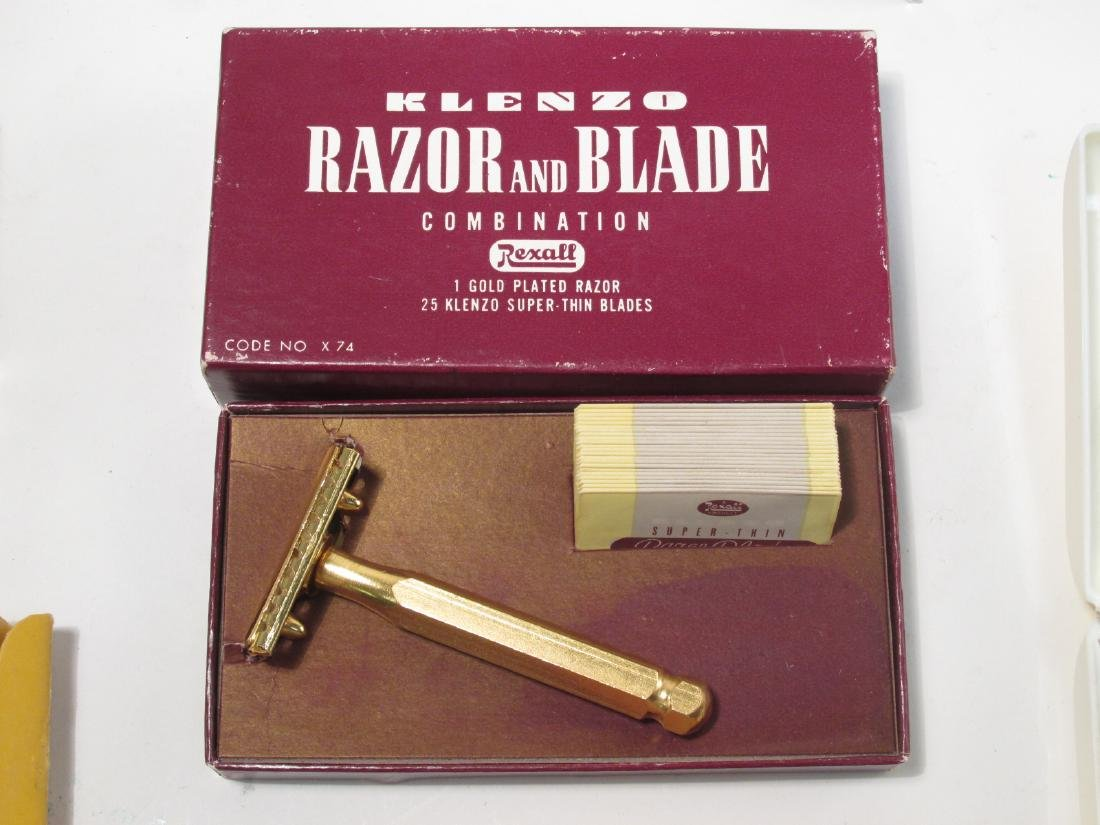EIGHT VINTAGE COLLECTABLE SAFETY RAZORS: ERST, ETC - 6