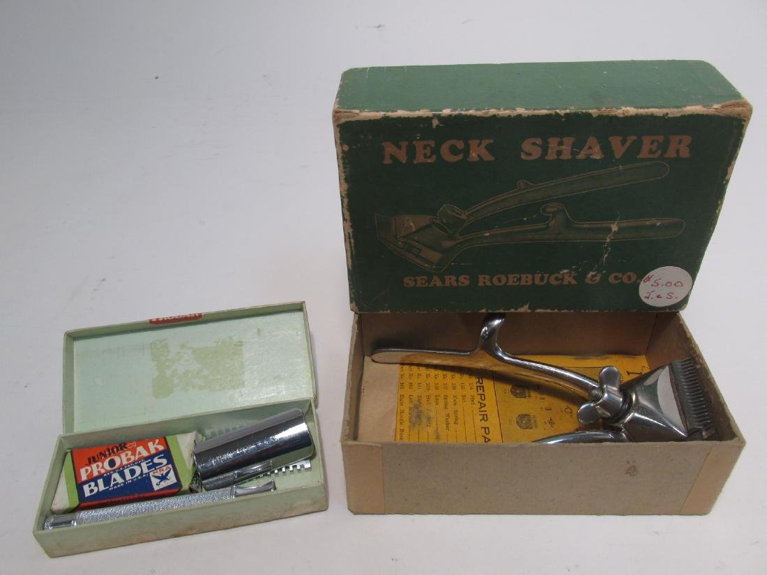 ASSORTED VINTAGE SAFETY RAZORS & HAIR TRIMMERS - 5