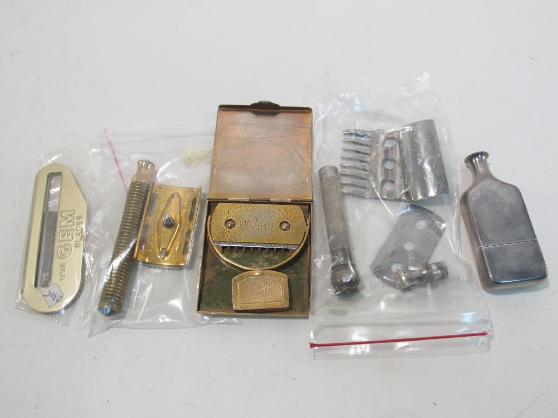 ASSORTED VINTAGE SAFETY RAZORS & HAIR TRIMMERS - 7