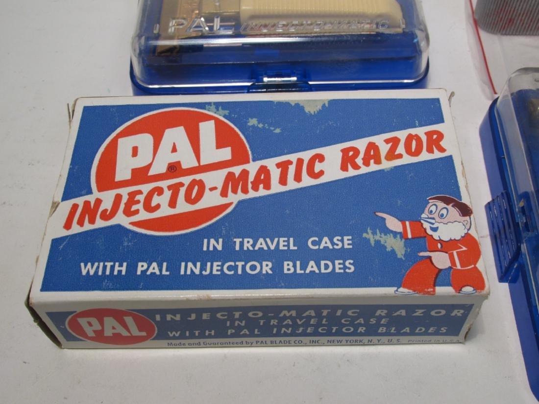 VINTAGE SCHICK & PAL SAFETY RAZORS - 8