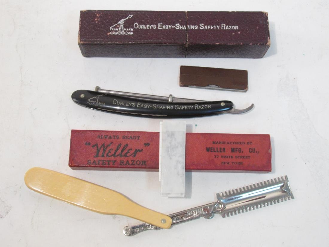 ASSORTED ANTIQUE AND VINTAGE STRAIGHT RAZORS - 6