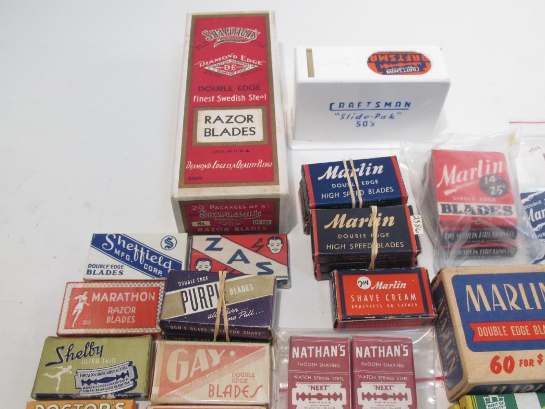 VINTAGE BOXED SAFETY RAZOR BLADES: LLOYDS, GAY, ET - 3