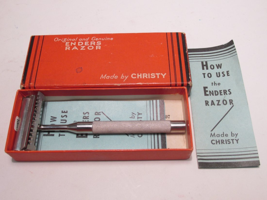 VINTAGE COLLECTABLE SE SAFETY RAZORS: ENDERS, ETC. - 6