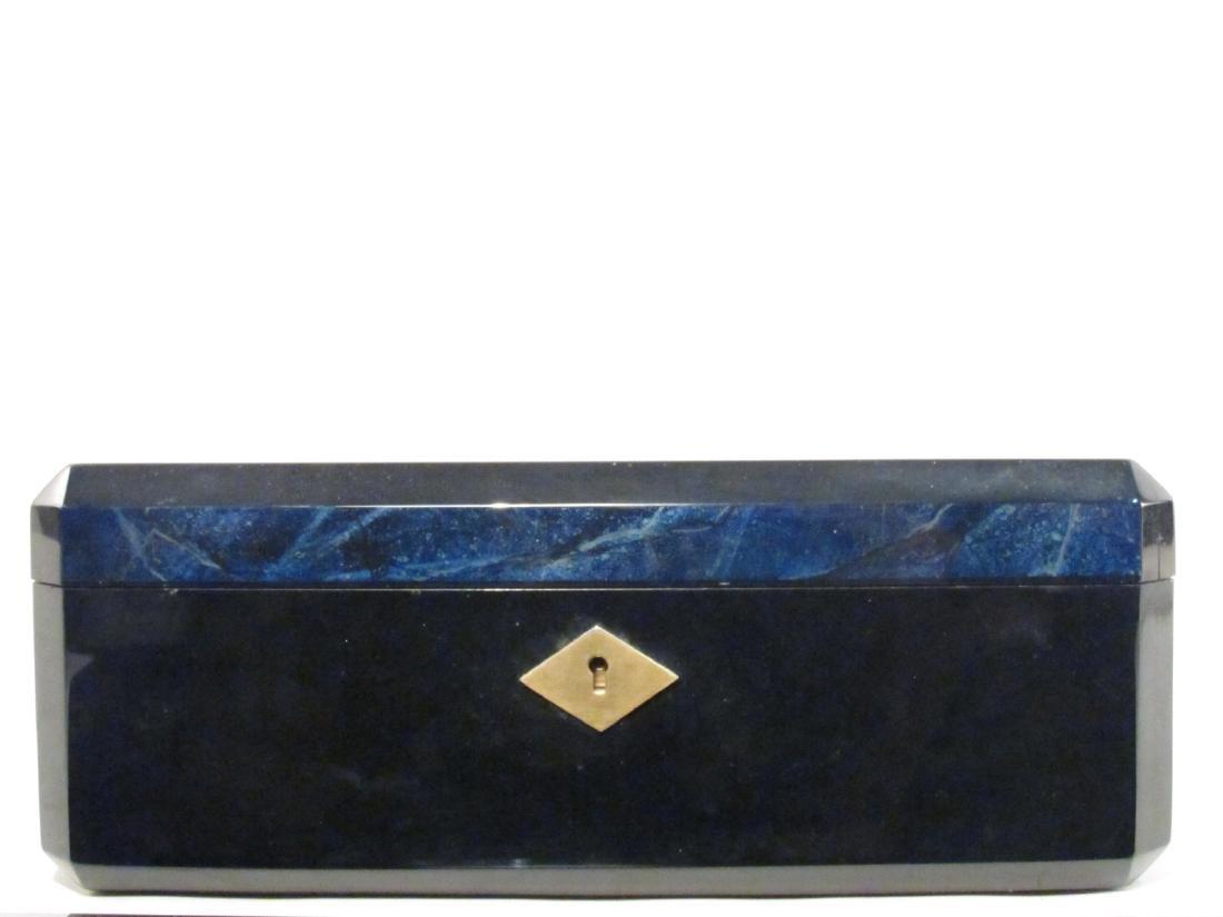 PARISIAN CUSTOM MADE LACQUER JEWELRY BOX - 2