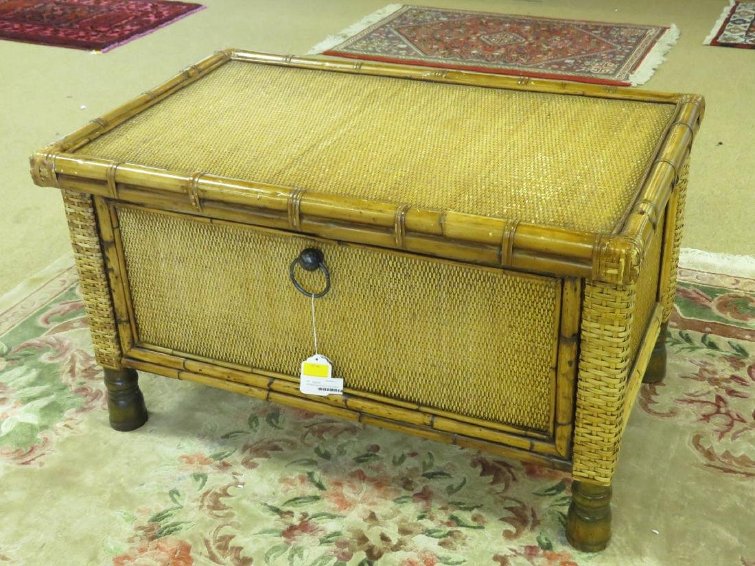 VINTAGE MCGUIRE STYLE CHEST