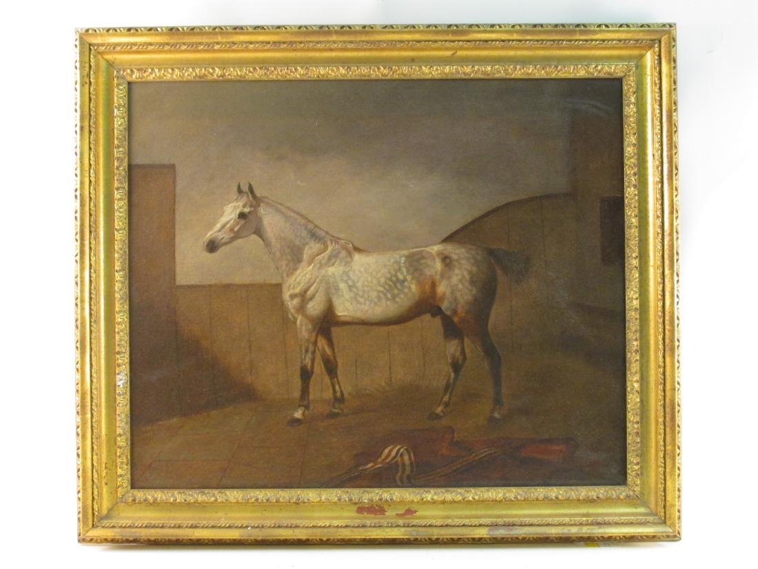JOHN DALBY OF YORK THOROUGHBRED HORSE RACING PORTRAIT