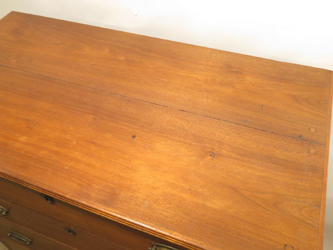 ANTIQUE 19TH CENTURY CHERRYWOOD CHEST OF DRAWERS - 2