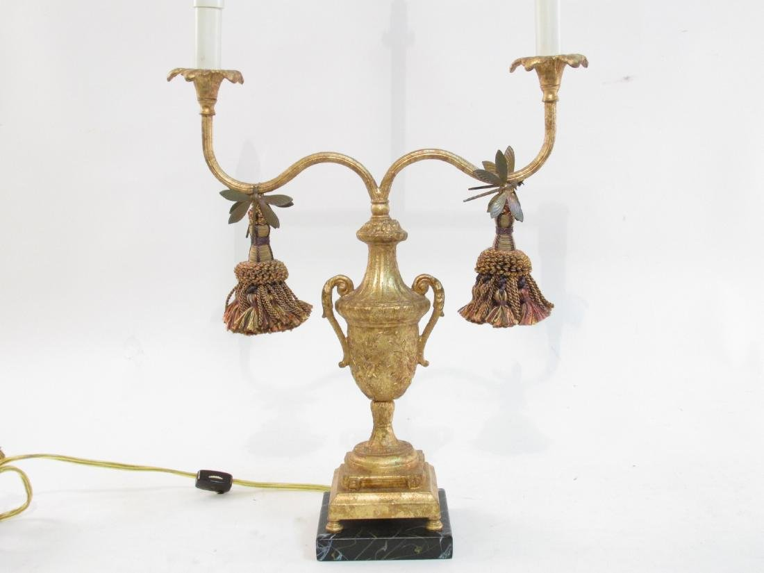 FREDERICK COOPER GILDED DRAGONFLY TABLE LAMP - 2