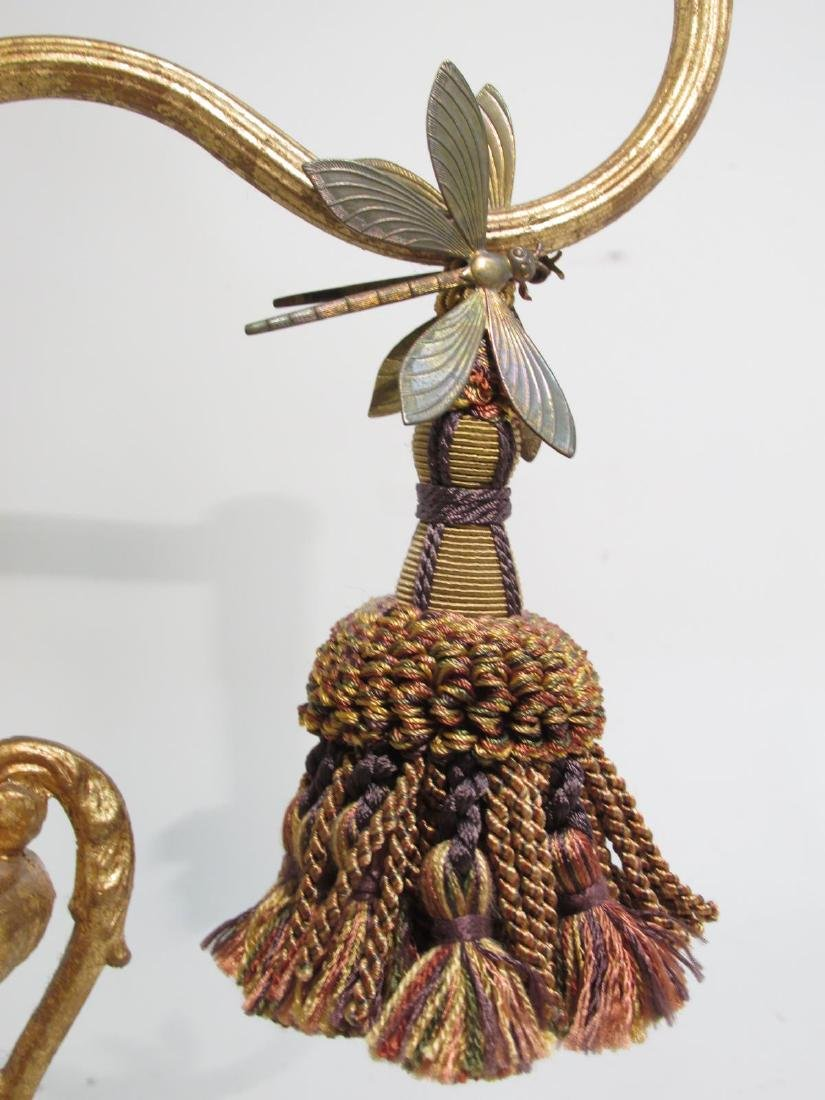 FREDERICK COOPER GILDED DRAGONFLY TABLE LAMP - 4