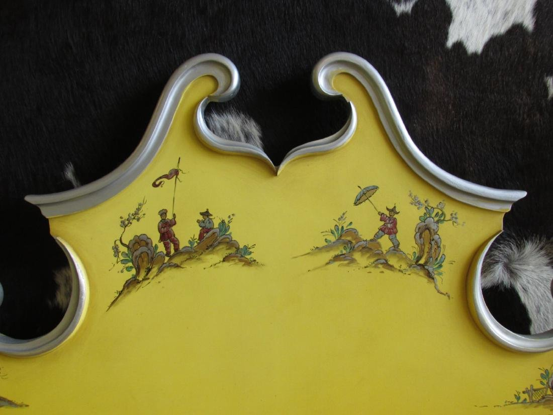 UNION NATIONAL YELLOW CHINOISERIE STYLE BEDROOM SE - 3
