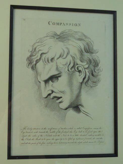 FOUR ETCHINGS AFTER LE BRUN PASSIONS OF THE SOUL - 2