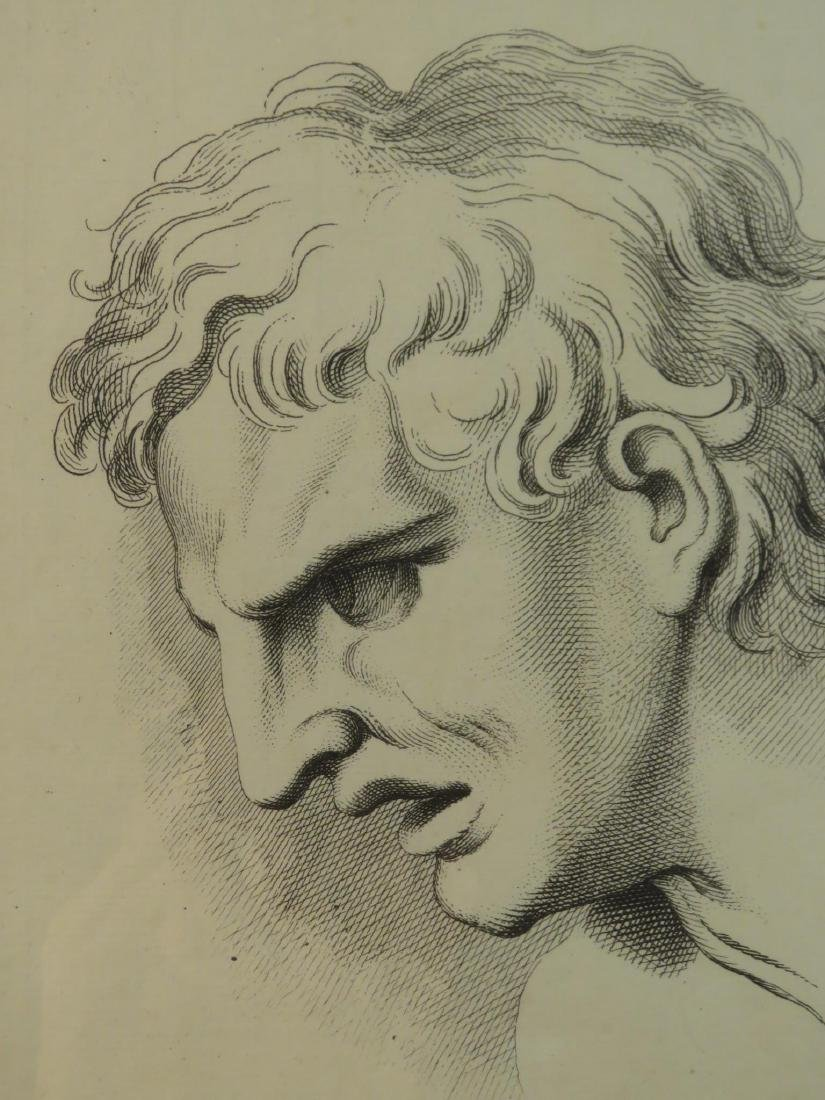 FOUR ETCHINGS AFTER LE BRUN PASSIONS OF THE SOUL - 3