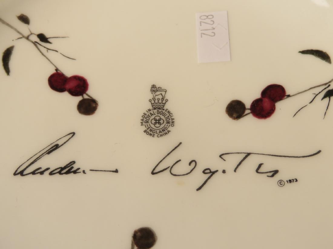 ROYAL DOULTON ANDREW WYETH CHERRY TREE BOWL - 4