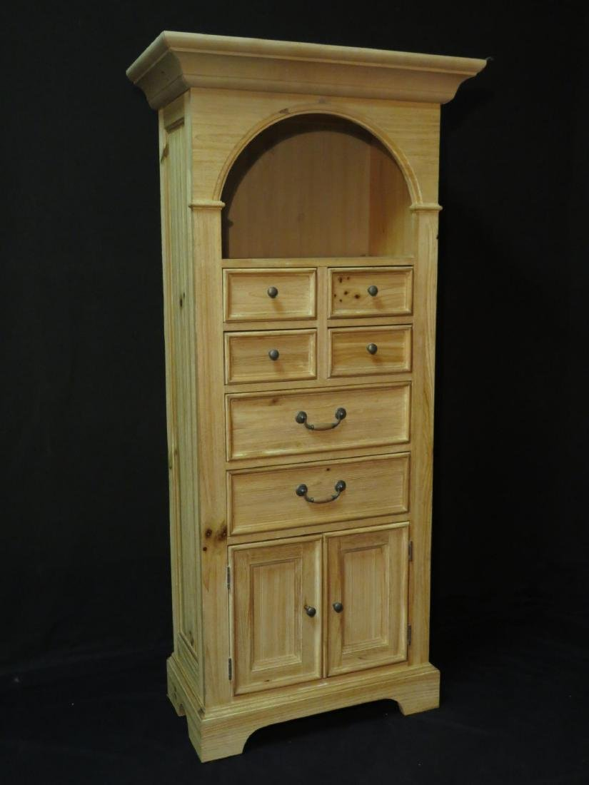 WOOD CHEST / CABINET 6 DRAWER