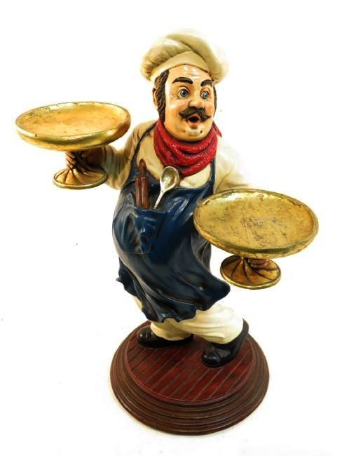 "ITALIAN CHEF 24"" KITCHEN FIGURE"