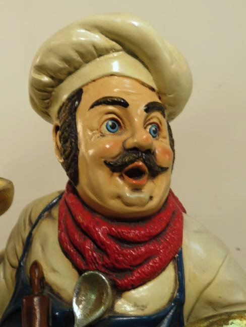 "ITALIAN CHEF 24"" KITCHEN FIGURE - 3"