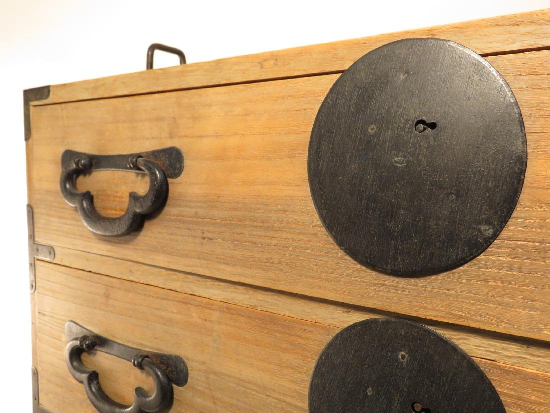 KOREAN TANSU STYLE STACKING DOUBLE CHEST ON CHEST - 2