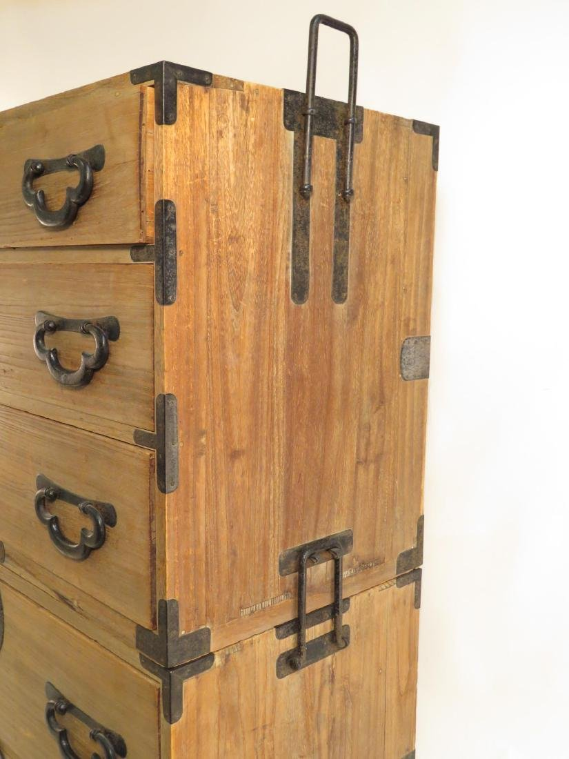 KOREAN TANSU STYLE STACKING DOUBLE CHEST ON CHEST - 3