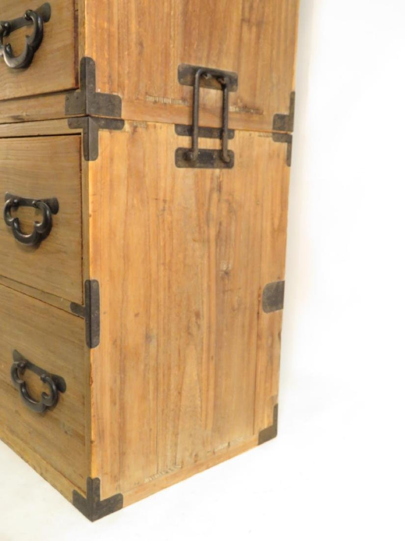 KOREAN TANSU STYLE STACKING DOUBLE CHEST ON CHEST - 4