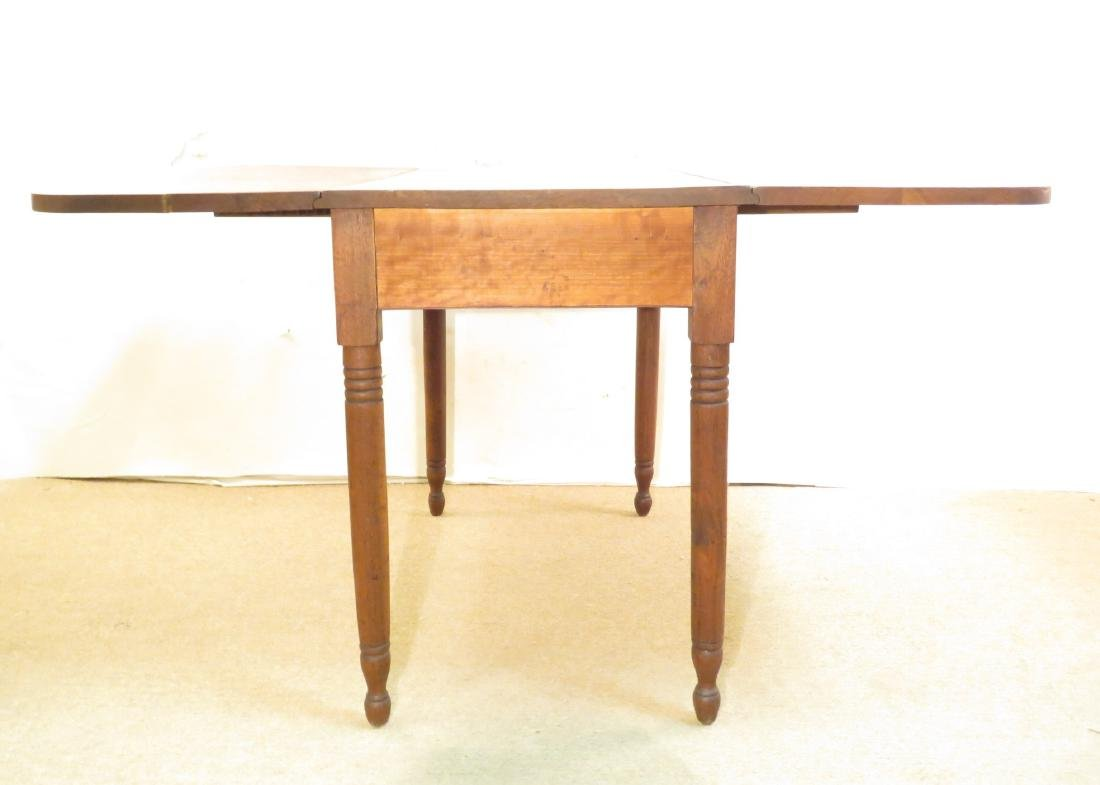 ANTIQUE CHERRYWOOD DROP LEAF TABLE