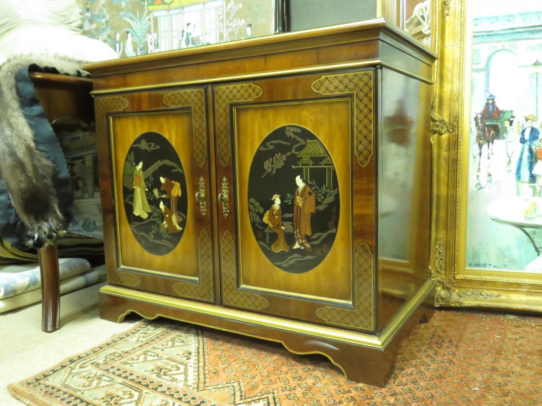 DREXEL CHINOISERIE MEDIA CONSOLE
