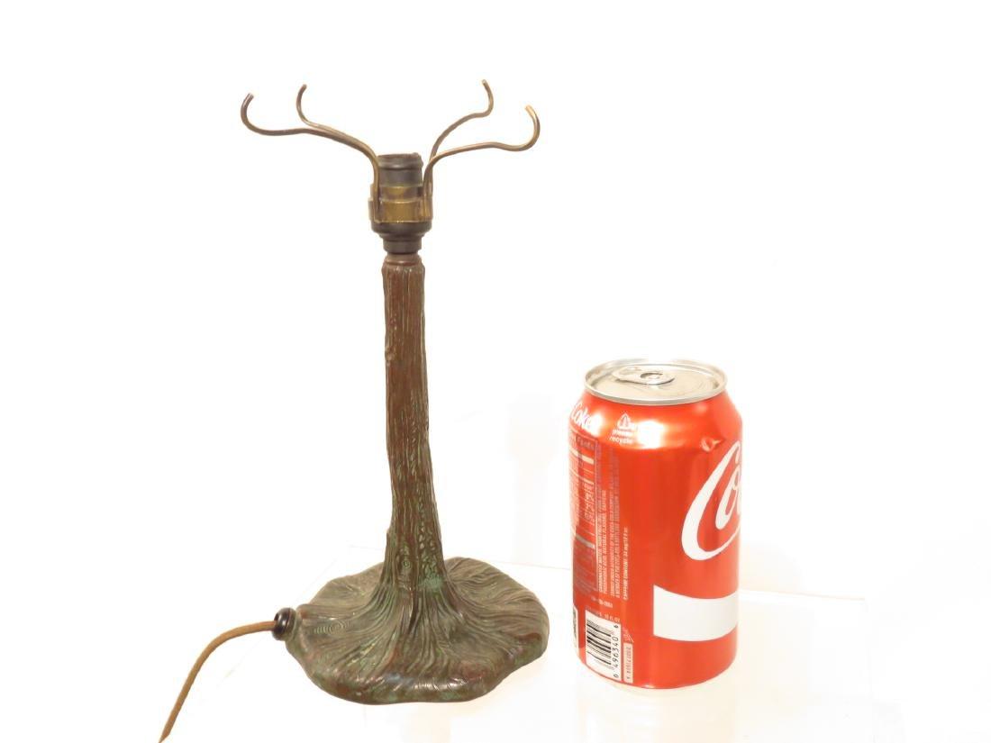 SMALL PAIRPOINT BRONZE BOUDIOR LAMP BASE - 6