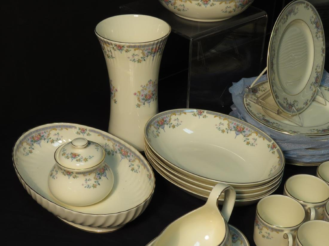 "ROYAL DOULTON ""JULIET"" DINNERWARE SERVICE FOR 12 - 4"