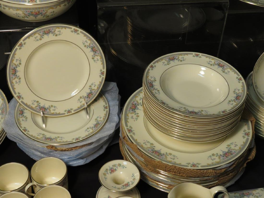 "ROYAL DOULTON ""JULIET"" DINNERWARE SERVICE FOR 12 - 5"