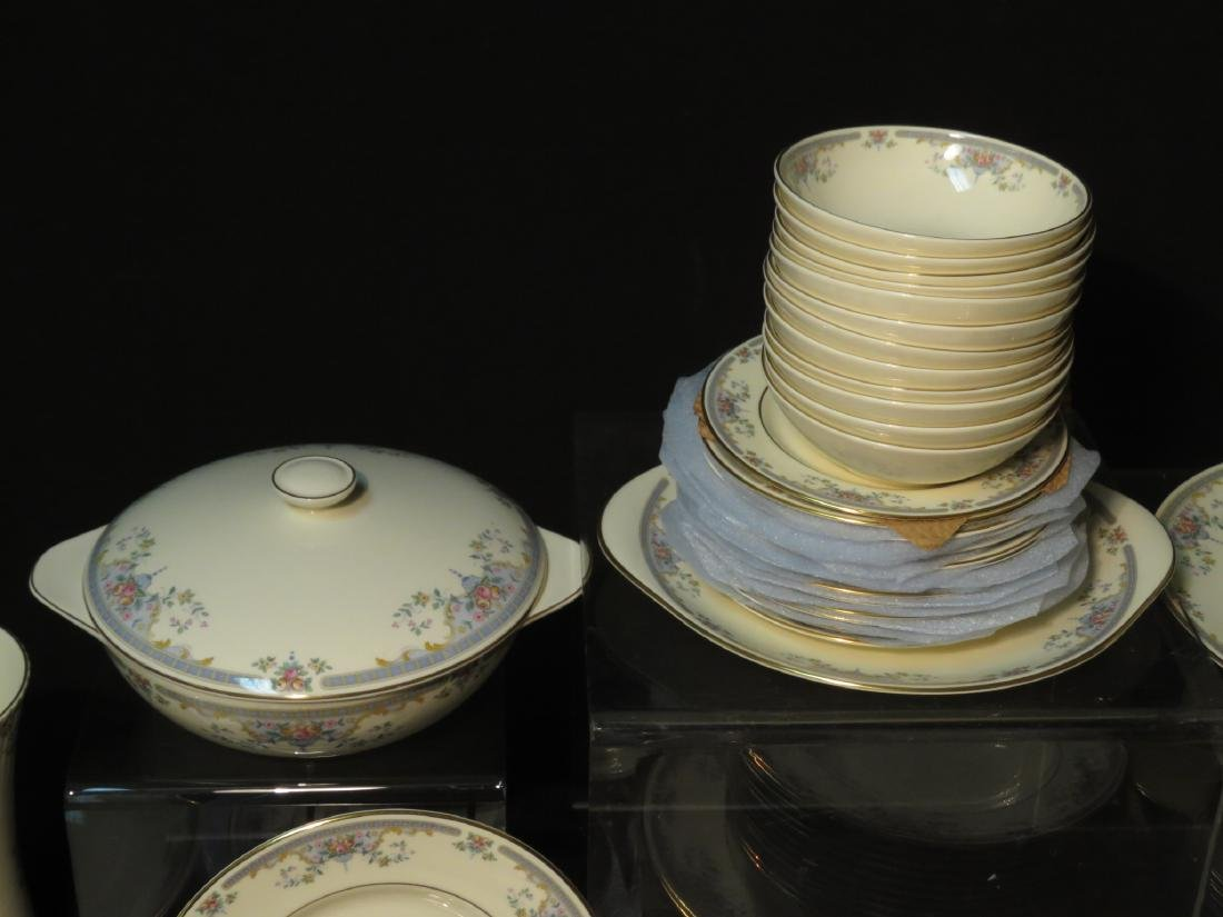 "ROYAL DOULTON ""JULIET"" DINNERWARE SERVICE FOR 12 - 6"