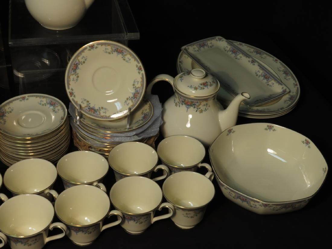 "ROYAL DOULTON ""JULIET"" DINNERWARE SERVICE FOR 12 - 9"